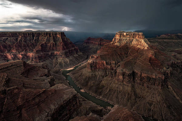 Grand Canyon Photograph - The Confluence by John W Dodson