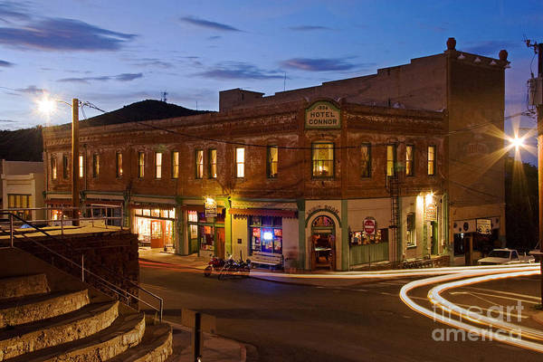 Photograph - The Connor Hotel And Spirit Room by Ron Chilston