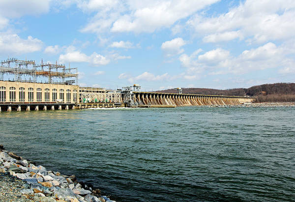 Photograph - The Conowingo Dam by Trina  Ansel