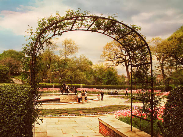 Formal Garden Photograph - The Conservatory Garden by Jessica Jenney