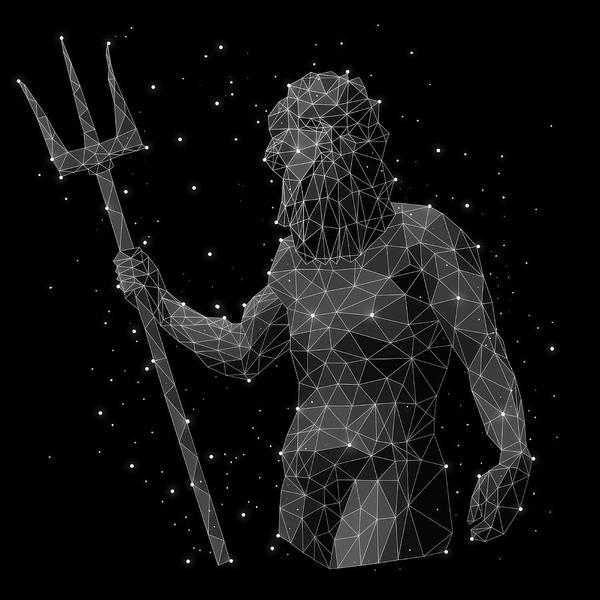 Men Digital Art - The Constellation Of Aquarius by Malte Mueller