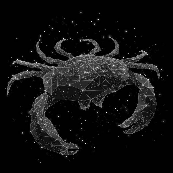 Majestic Digital Art - The Constellation Of Cancer by Malte Mueller