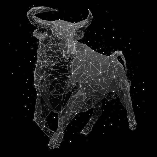 Majestic Digital Art - The Constellation Of Taurus by Malte Mueller