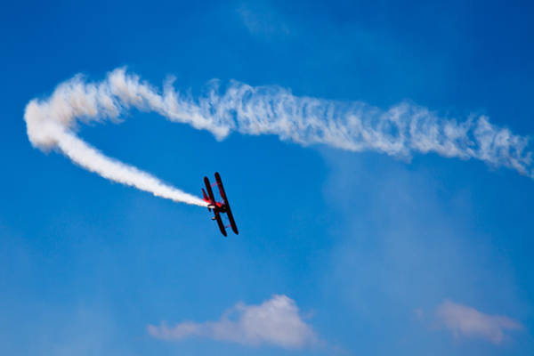 Photograph - The Contrail by David Patterson