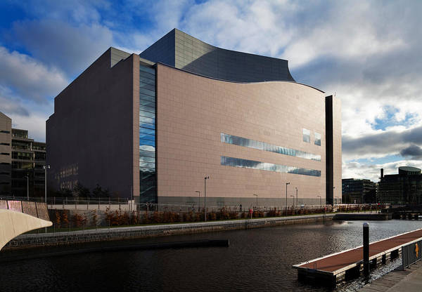 Financial Centre Photograph - The Convention Centre Dublin , Dublin by Panoramic Images