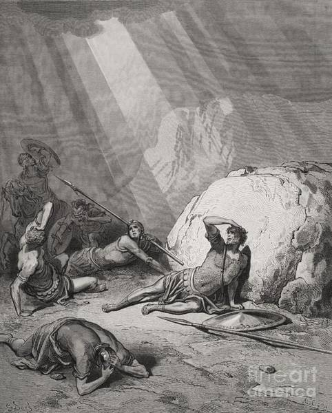Belief Painting - The Conversion Of St. Paul by Gustave Dore