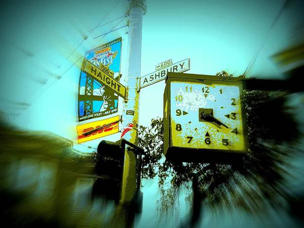 Greatful Dead Photograph - The Corner Of Haight And Ashbury by Don Struke