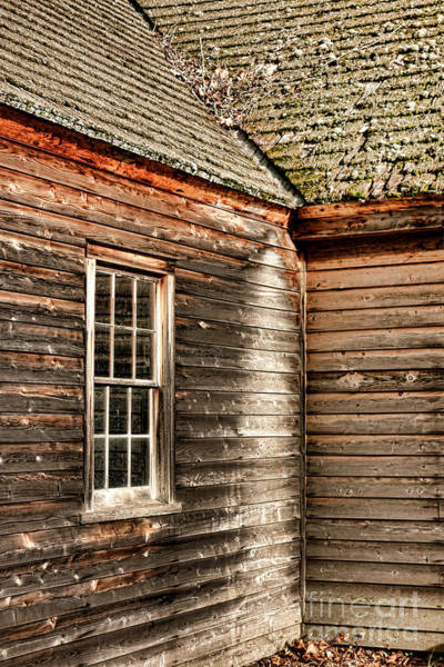 Wood Siding Wall Art - Photograph - The Corner by Olivier Le Queinec