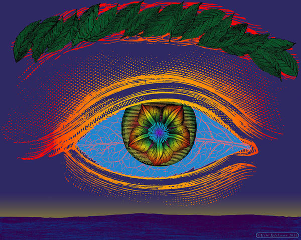 Digital Art - The Cosmic Eye by Eric Edelman