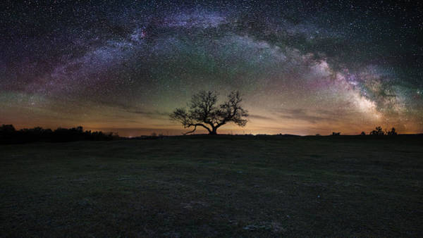 Mound Photograph - The Cosmic Key by Aaron J Groen
