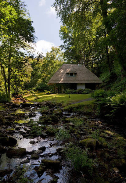 Jardin Photograph - The Cottage Ornee Teahouse, Kilfane by Panoramic Images