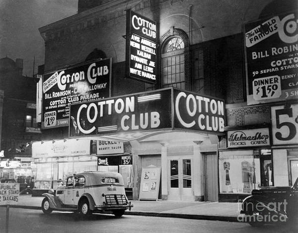 Wall Art - Photograph - The Cotton Club 1930s by Photo Researchers