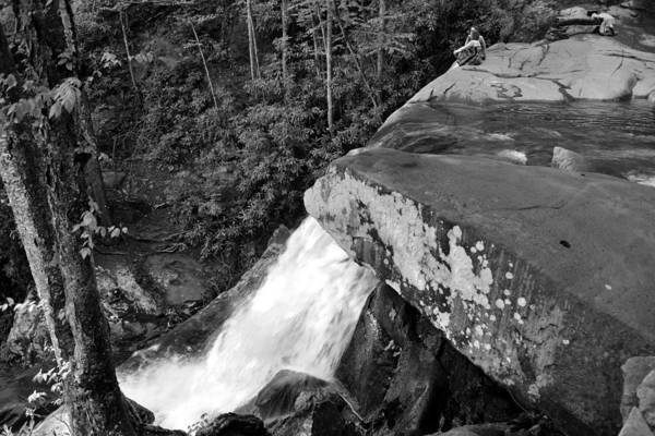 Wall Art - Photograph - The Couple At Laurel Falls by David Lee Thompson