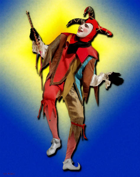 Painting - The Court Jester by Tyler Robbins