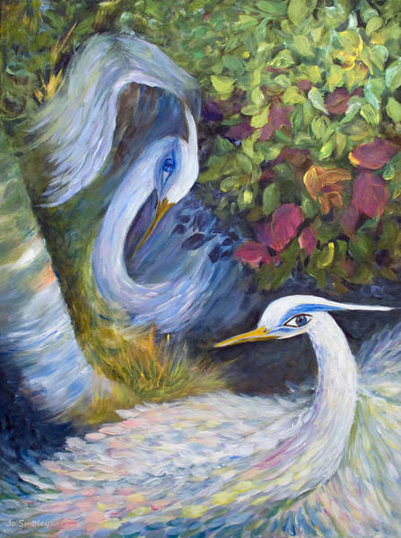 Painting - The Courtship by Joanne Smoley