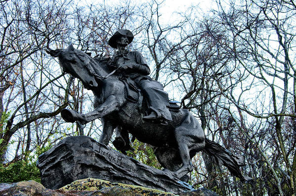 Remington Photograph - The Cowboy by Bill Cannon