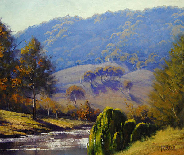 Australian Art Painting - The Coxs River by Graham Gercken