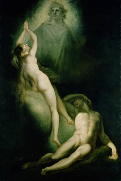 Wall Art - Photograph - The Creation Of Eve, 1791-93 Oil On Canvas by Henry Fuseli