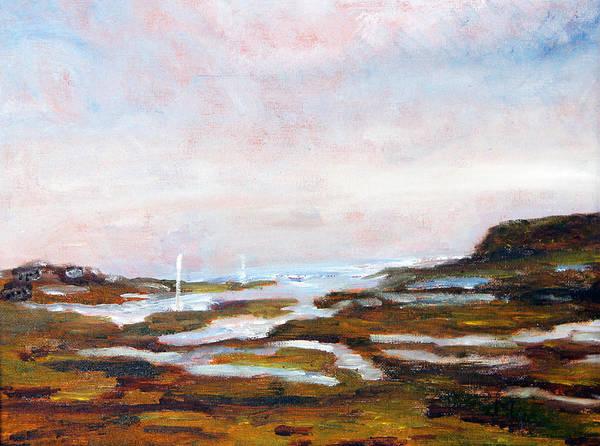 Blackfish Painting - The Creek by Michael Helfen