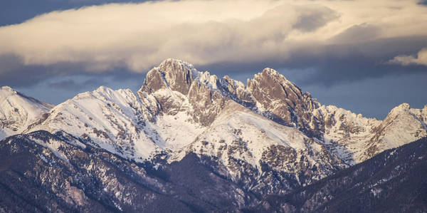 Westcliffe Photograph - The Crestones 1x2 by Aaron Spong