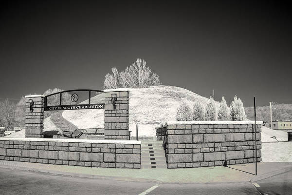 Photograph - The Criel Mound  by Mary Almond