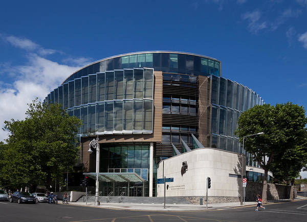 County Dublin Photograph - The Criminal Courts Of Justice by Panoramic Images