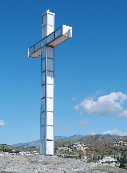 Photograph - The Cross - Almunecar - Spain by Phil Banks