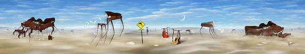 Grand Piano Photograph - The Crossing Panorama by Mike McGlothlen