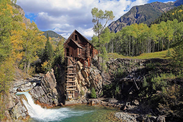 Photograph - The Crystal Mill by Johnny Adolphson