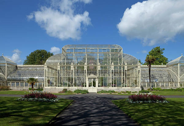 Glasshouse Photograph - The Curvilinear Glasshouses, National by Panoramic Images