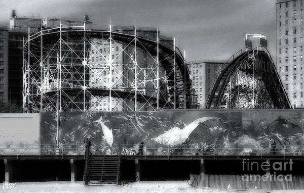 Photograph - The Cyclone by Jeff Breiman
