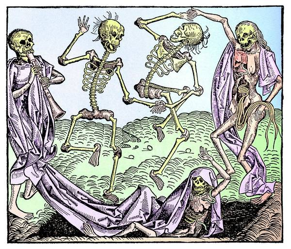 1921 Photograph - The Dance Of Death by Science Photo Library
