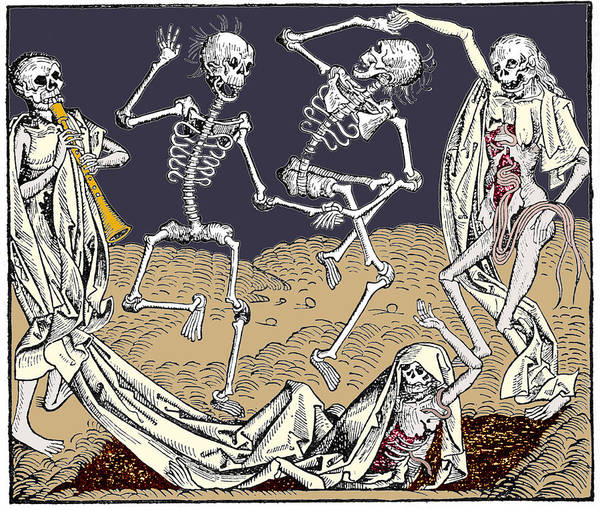 Allegory Photograph - The Dance Of Death by Sheila Terry/science Photo Library