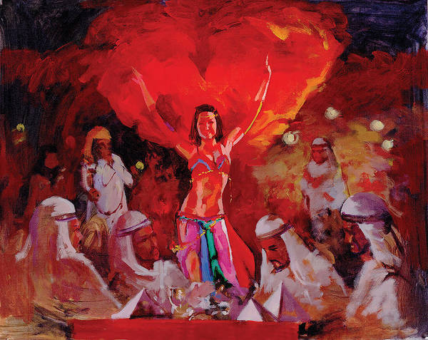 Painting - The Dancer by Art Tantra