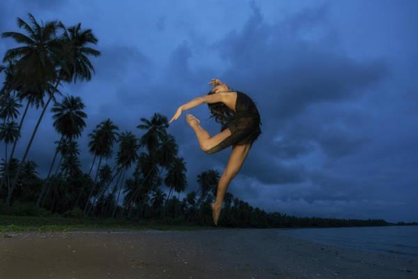 Dancing Water Photograph - The Dancer by Dennie Cody And Duangkamon Khattiya