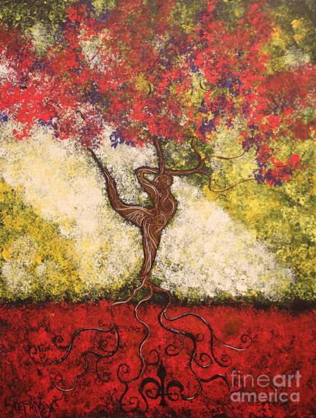 The Dancer Series 7 Art Print