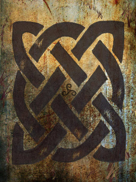 Eire Digital Art - The Dara Celtic Symbol by Kandy Hurley