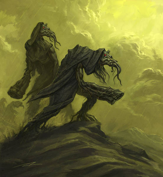 World Of Warcraft Wall Art - Painting - The Darathia by Alan Lathwell