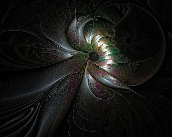 Digital Art - The Dark One by Amanda Moore
