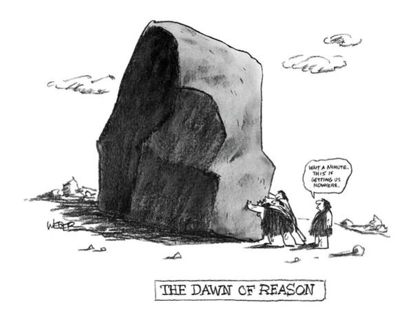 1984 Drawing - The Dawn Of Reason by Robert Weber