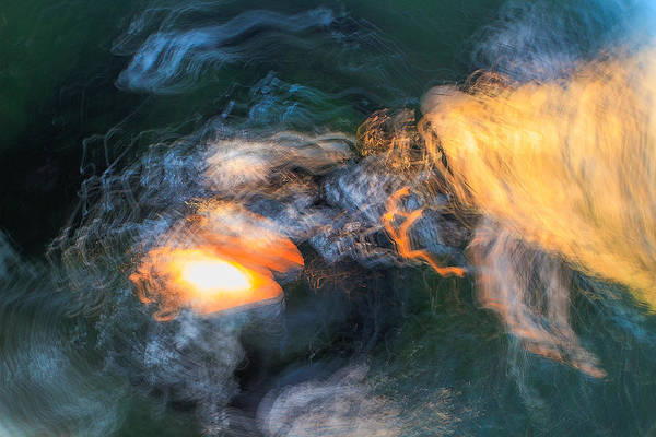 Camera Raw Photograph - The Dawn Of Time by Steve Belovarich