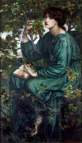 Gabriel Painting - The Day Dream by Dante Gabriel Rossetti