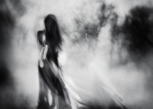 Sketch Photograph - The Day I Stopped Dancing by Charlaine Gerber