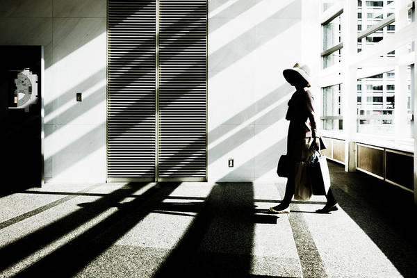 Hallway Photograph - The Daydream by Tetsuya Hashimoto
