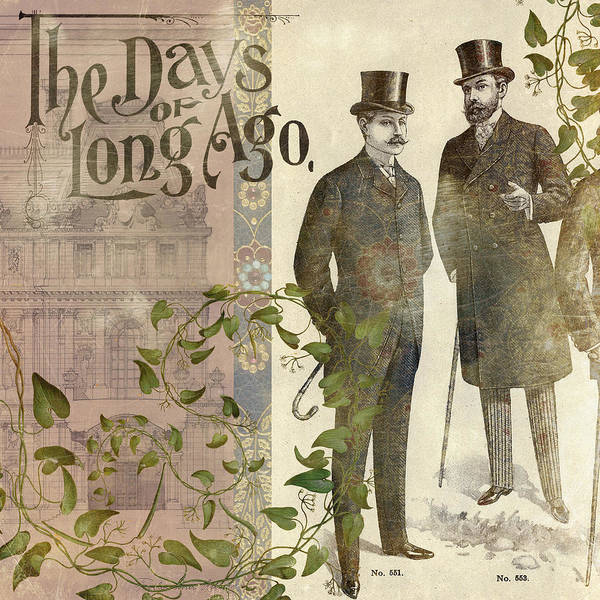 Aimee Stewart Wall Art - Photograph - The Days Of Long Ago by MGL Meiklejohn Graphics Licensing