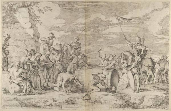 The Death Of Marcus Atilius Regulus Art Print