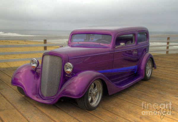 Photograph - The Deep Purple Ride by Mathias