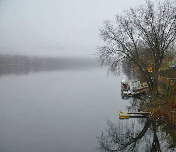 Wall Art - Photograph - The Delaware River At New Hope Pa by Bill Cannon