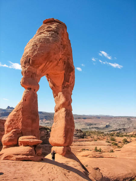 Photograph - The Delicate Arch by Susan Leonard