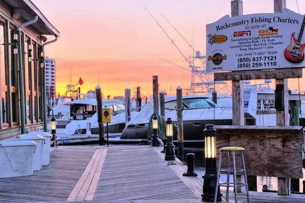 Destin Photograph - The Destin Boardwalk by JC Findley